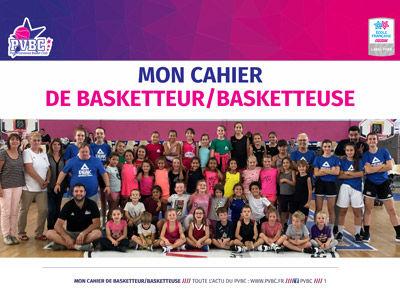 Le cahier de la basketteuse version 2018 - 2019
