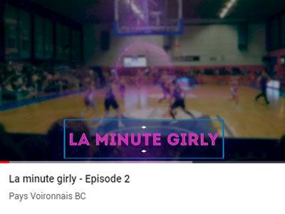"""La """"Minute Girly"""" épisode 2"""