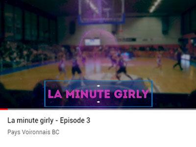 """La """"Minute Girly"""" épisode 3"""