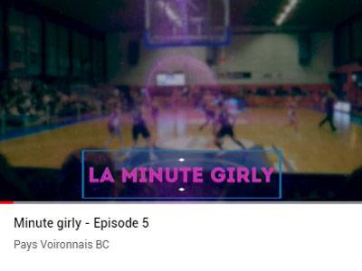 """La minute """"Girly"""" épisode 5"""