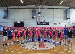 Equipe U18 France de Béranger & Lucas