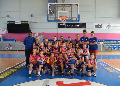 Equipe U11 de Camélia/Gaelle/Elsie