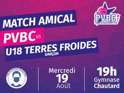 Premier match amical à domicile pour la NF1 du PVBC !