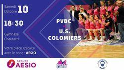Deuxième match à domicile du PVBC ce samedi 10 Octobre !