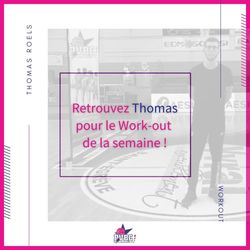 Work-out semaine du 25/01/2021