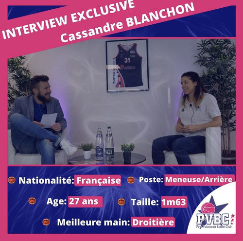 PVBC L'Emission n°4 Cassandre BLANCHON