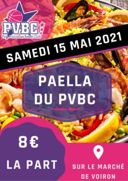 Paëlla du PVBC !