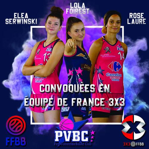 Pôle ELITE 3x3 équipe de France