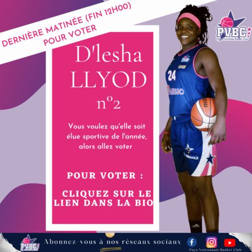 Votez D'Lesha LLYOD