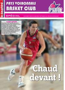 Numéro spécial Pays Voironnais Basket Club le Dauphiné Libéré