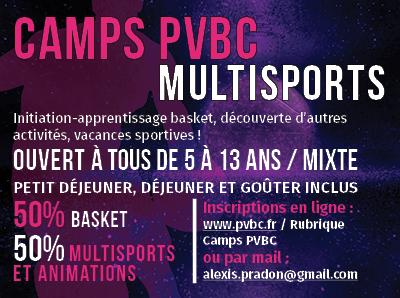 Camp multi-sports
