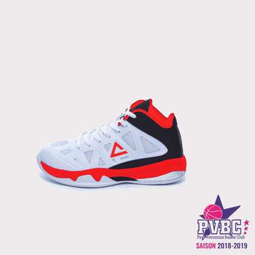 Basket PEAK Victor kids white black red