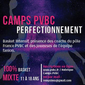 Camp Perfectionnement basket (à la journée)