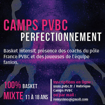 Camp Perfectionnement basket (semaine)