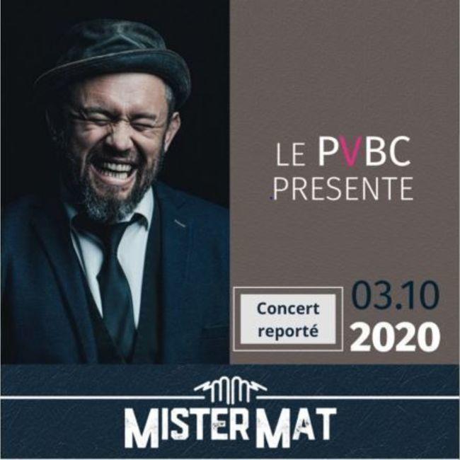 Billet concert Mister Mat au Grand Angle