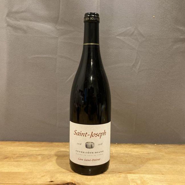 """Vin Rouge """"Saint-Joseph"""" 2018 (côte du Rhône), carton de 6"""